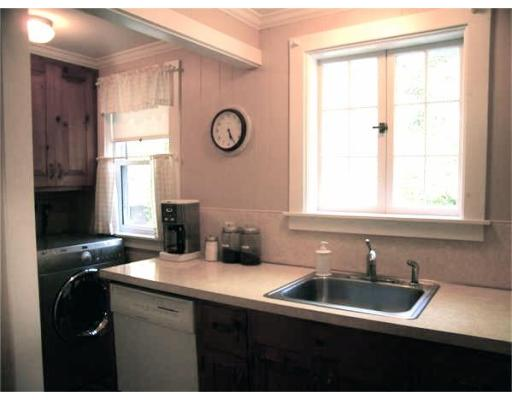 The kitchen at 240 Water Street, Hanover before renovations. Courtesy of MLS PIN.